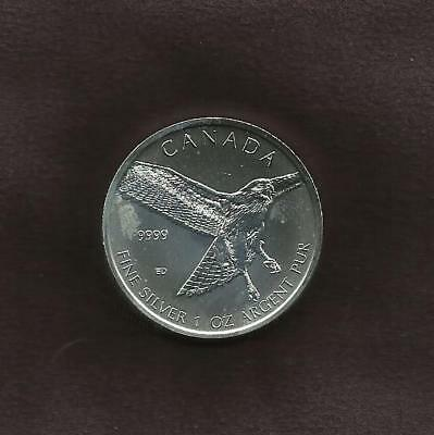 1 OZ Silver 9999 -  Canadian Set Birds of Prey - 3 of 4 - View Others