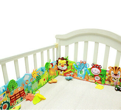 Free Shipping Baby Bed Around Cloth Book Animal lovely toys Lion Giraffe Hanging