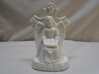 Rare 18th c Chinese Export Blanc de Chine Jesuit Angel Figure