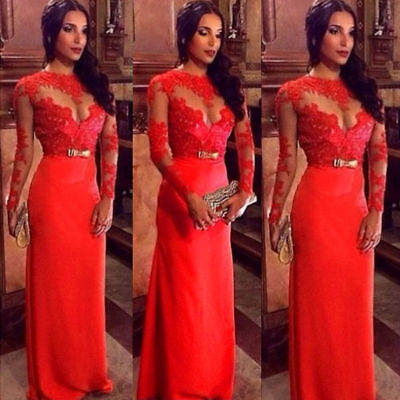 Sexy Women's Long Evening Party Ball Prom Gown Formal Bridesmaid Cocktail Dress