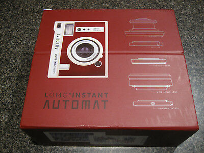 NEW! Lomography Lomo' Instant Automat & Lenses - South Beach - Red (LI850LUX)