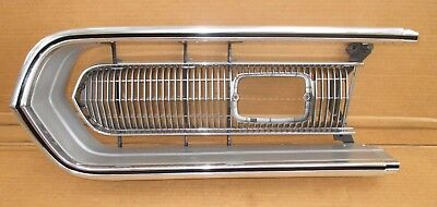 BARRACUDA GRILL LH 68 - AWESOME NICE!!! cuda grille HEADLIGHT 68 hemi