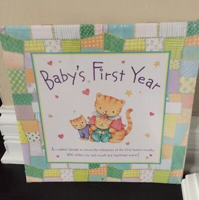 New Babys First Year Calendar by American Greetings