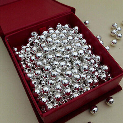 6 MM Sterling Silver Rondelle bright  Beads Pkg of  12   Made In USA  #2206S