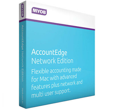 MYOB (ESD) MYOB AccountEdge Network Edition (MENEFUL-RET-AU)