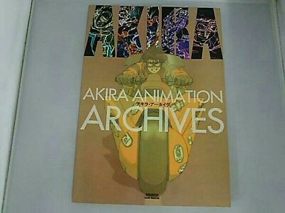 USED ​​Akira Archive Katsuhiro Otomo Animation Color Art Story Board Book F/S