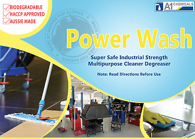 Power Wash Multi-Purpose All -Round Cleaner/Degreaser Paint Prep, Carpet, Stain