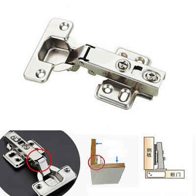 Concealed Door Hinge Full Overlay Kitchen Cabinet Cupboard Soft Close 1 Pc