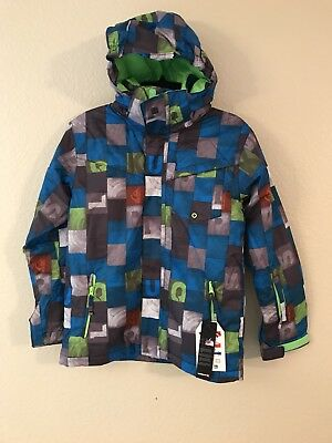 Brand New Quiksilver Boys Youth Kids Snow Jacket