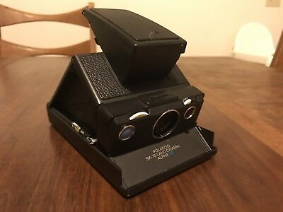Vtg POLAROID SX-70 Alpha SE Land Camera Tested And Working.