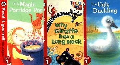 Read it Yourself x 3 Level 1 READERS Ladybird LEARNING TO READ Children's Books