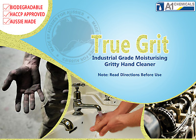 True Grit Industrial Citrus healing moisturising Hand Cleaner/wash