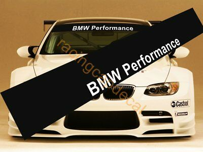 BMW Performance Sun Strip Visor Windshield Windscreen Decal Sticker sport parts