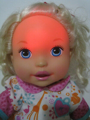 2012 Mattel Little Mommy DOCTOR MOMMY DOLL Interactive Talking Blond Fever X1028
