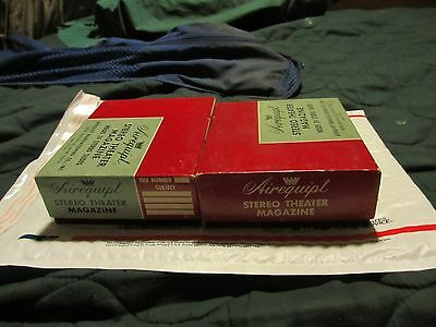2 Airequipt Stereo slide trays for Airequipt Stereo Theater V in boxes.