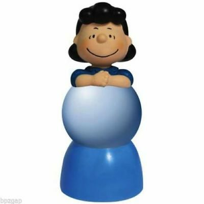 Peanuts Lucy Color Changing Lighted Sparkler Globe Westland #20783