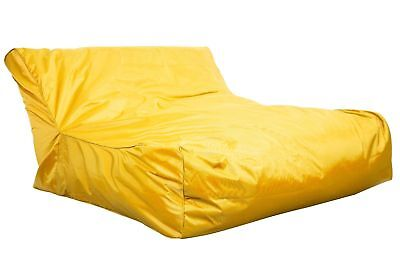 Floating Bean Bag Pool Beach Swimming Float Lounge Chair Colourful Summer Yellow