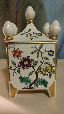 Vintage Beautiful signed French Porcelain dose,incredible condition