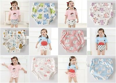 New Baby Girl Boy Unisex Kids Children Toddler Potty Toilet Training Pants Pant