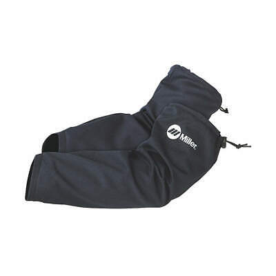 MILLER ELECTRIC Cotton Cape Sleeves,Navy,400 Deg. F, 247148, Navy