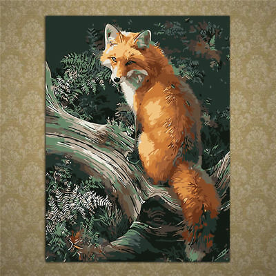 Animal Oil Painting By Numbers Acrylic Drawing On Canvas DIY Home Office Decor