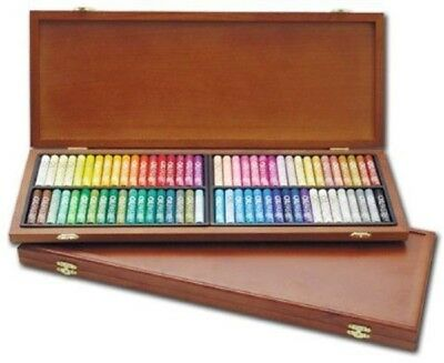 Mungyo - 72x Oil Pastels in Wooden Box - Brand New - Clearance