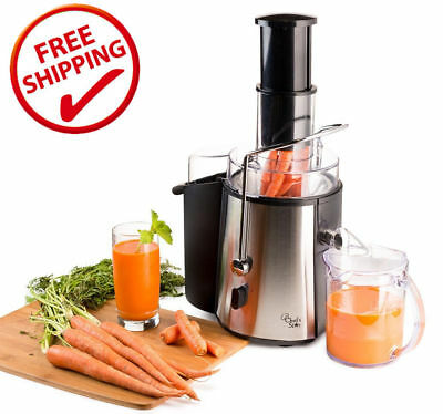 Stainless Steel Electric Juice Extractor Machine Juicer Fruit Maker Apple Carrot