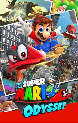 "016 Super Mario Odyssey - Action Adventure Game 14""x21"" Poster"
