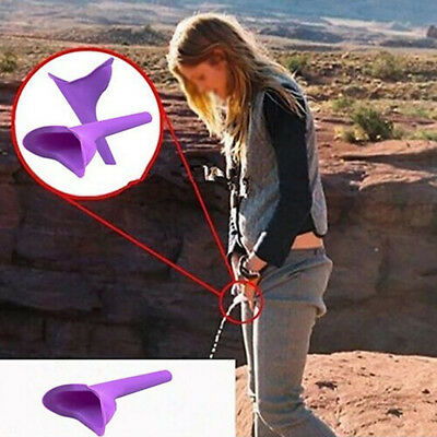 New Go Female Girl Camping Travel Outdoor Stand Pee Portable Urination Device