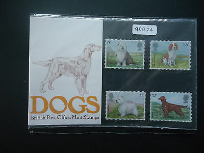 Great Britain 1979 Presentation Pack No106 Dogs MNH (90024)