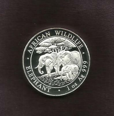 1 Oz Silver 999 - Elephant 2013 - View Other Coin
