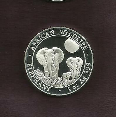 1 Oz Silver 999 - Elephant 2014 - View Other Coin