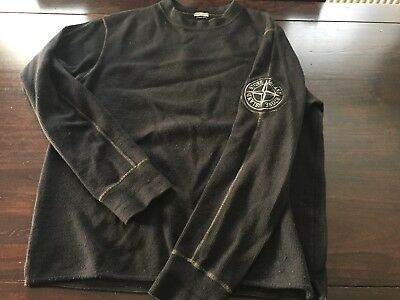 Vintage Stone Island Pullover. Made In Italy. Rare 1990's