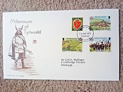 g........Isle of Man - First Day Cover -MILLENNIUM of TYNWALD-1979