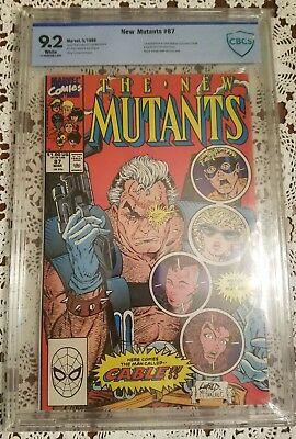 The New Mutants #87 CBCS 9.2 NM 1st Cable Deadpool 2 movie!