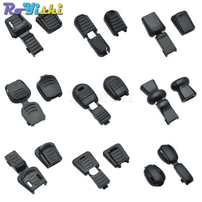 Plastic Zipper Pull Cord Ends For Paracord & Cord Tether Tip Cord Lock Black