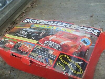childs car racing set 240 volt electric with transformer has mini minor toy cars