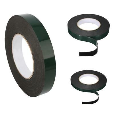 10m Strong Waterproof Adhesive Double Sided Foam Black Tape For Car Home Trim DA