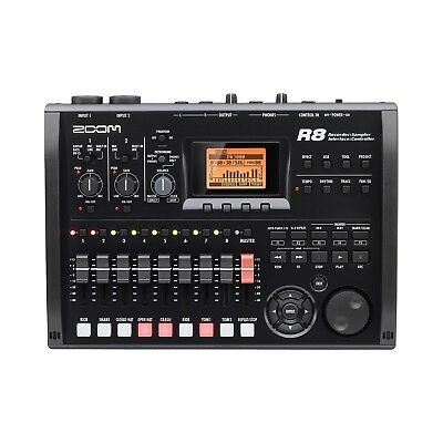 Brand New Zoom R8 8-Track Digital Recorder/ Interface/ Controller/ Sampler