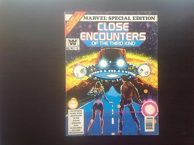 Marvel Special Edition Close Encounters of The Third Kind #1 Whitman GD+ Movie