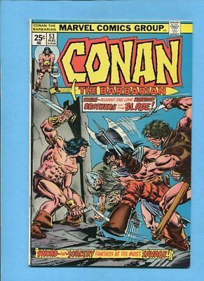 Conan the Barbarian #53 Marvel Comics August 1975  VF/NM