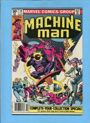 Machine Man #19 1st Jack O'Lantern Marvel Comics Feb 1981 Steve Ditko VF+