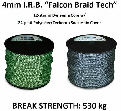"4mm IRB ""Falcon Braid Tech"" Rope *PER METRE* Halyard Sheet Boat Sailing Technora"