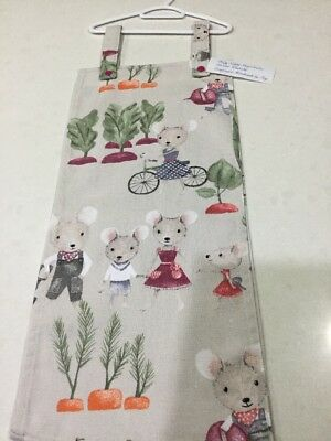 Baby Nappy Stacker/Nappy Sling, On Your Bike, Handmade, New