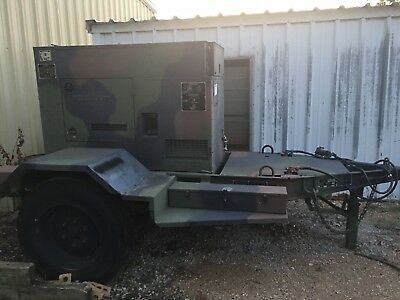 MEP-804A 15Kw generator diesel  1/3 phase Military tactical quiet
