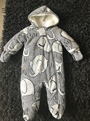 Baby Boys All In One Suit Next New 3-6 Month