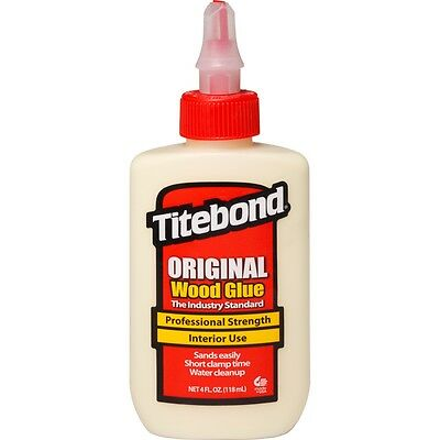(50,76 EUR/Liter) Titebond Original Holzleim 118ml, Holzkeber, Wood Glue