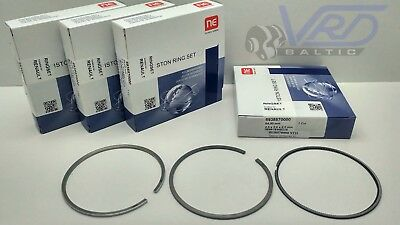PISTON RINGS SET FOR 4 CYL. RENAULT ESPACE MEGANE LAGUNA SCENIC TRAFIC 2.0 dCi