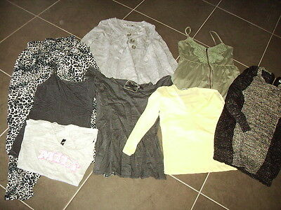 Ladies Bulk Clothing - Size 10 - Cotton On, Temt - 8 Items -  Exc Condition