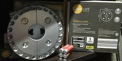 6 Casa Life By Lightway 28LED Umbrella Light New